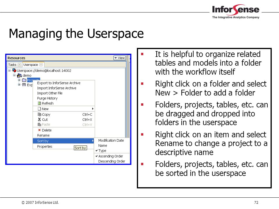 Managing the Userspace