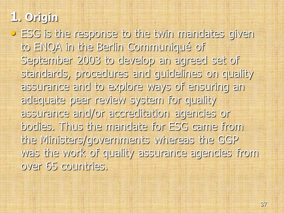 1. Origin