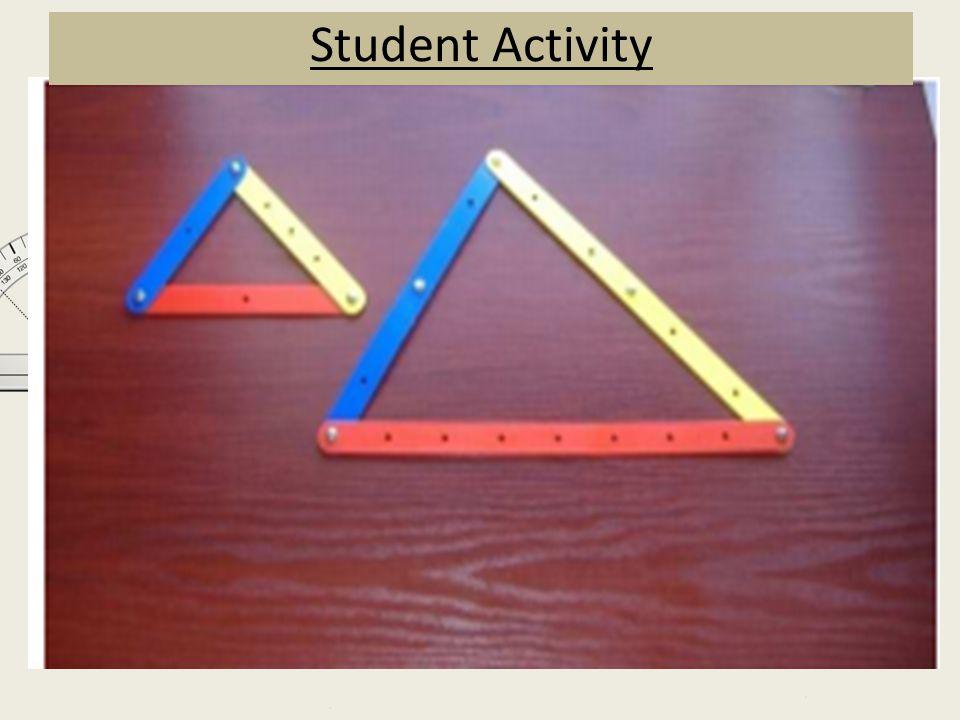 Student Activity B E A C D F