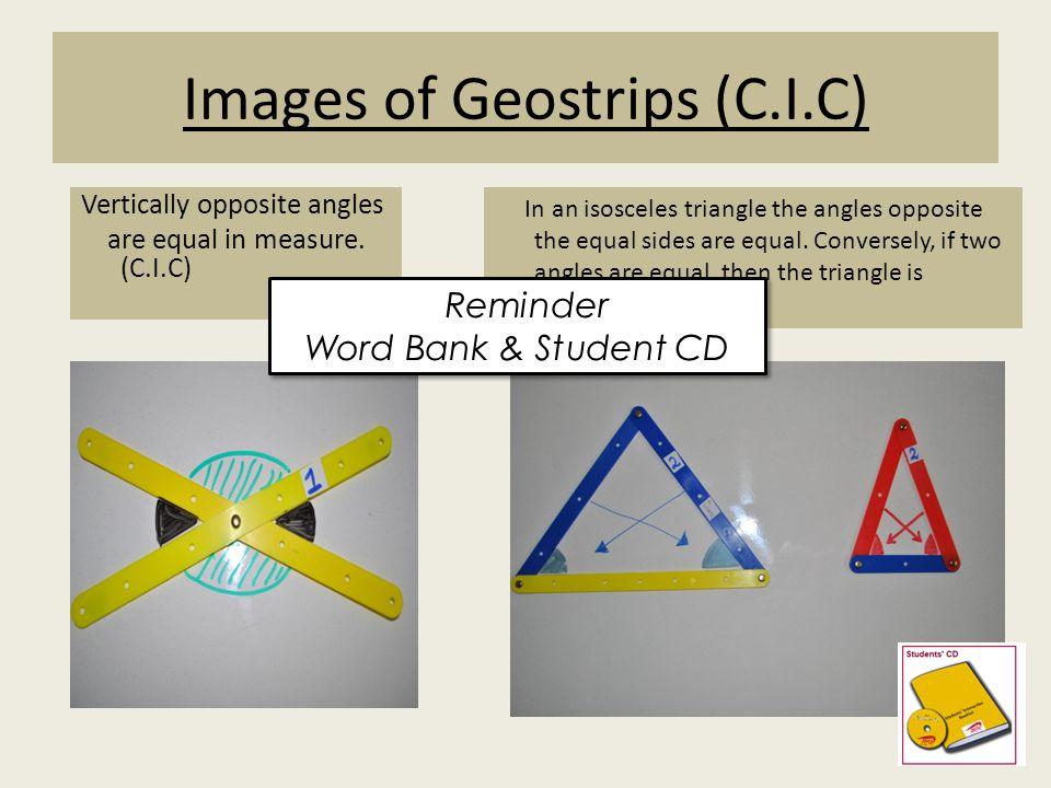 Images of Geostrips (C.I.C)
