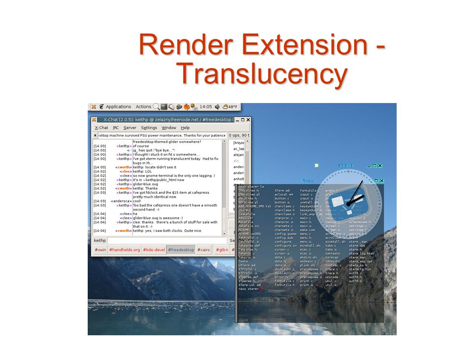 Render Extension - Translucency
