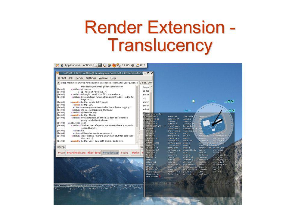 Render Extension - Translucency