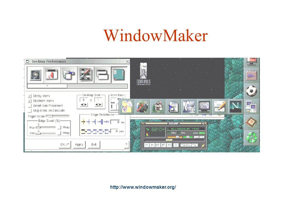 WindowMaker http://www.windowmaker.org/