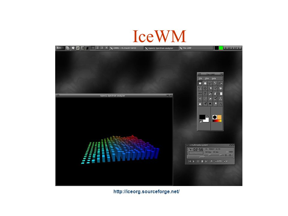 IceWM http://iceorg.sourceforge.net/