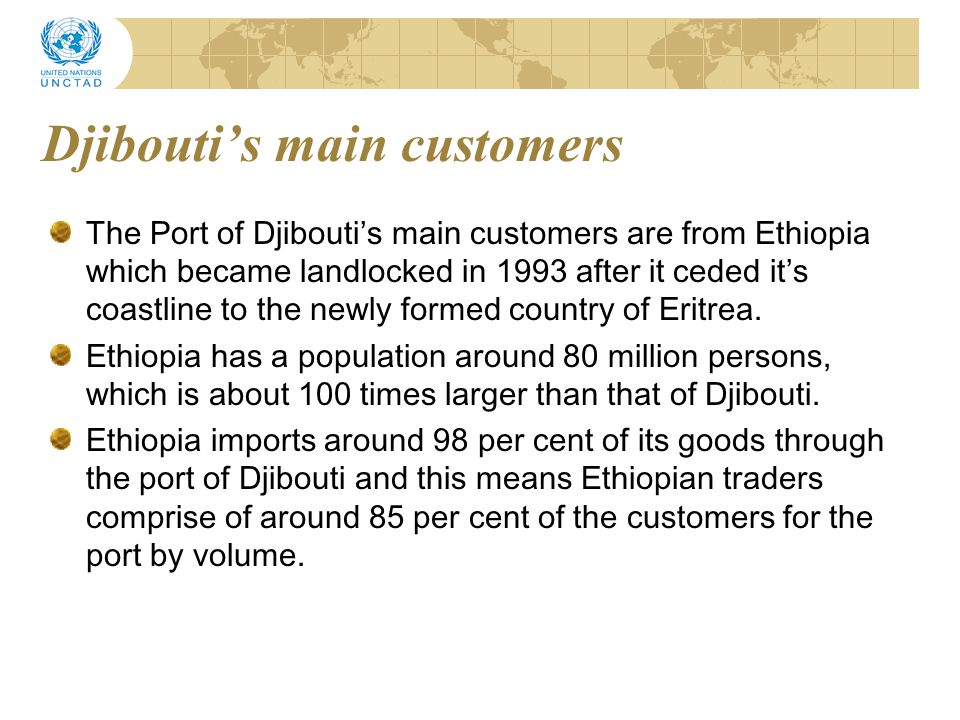Djibouti's main customers
