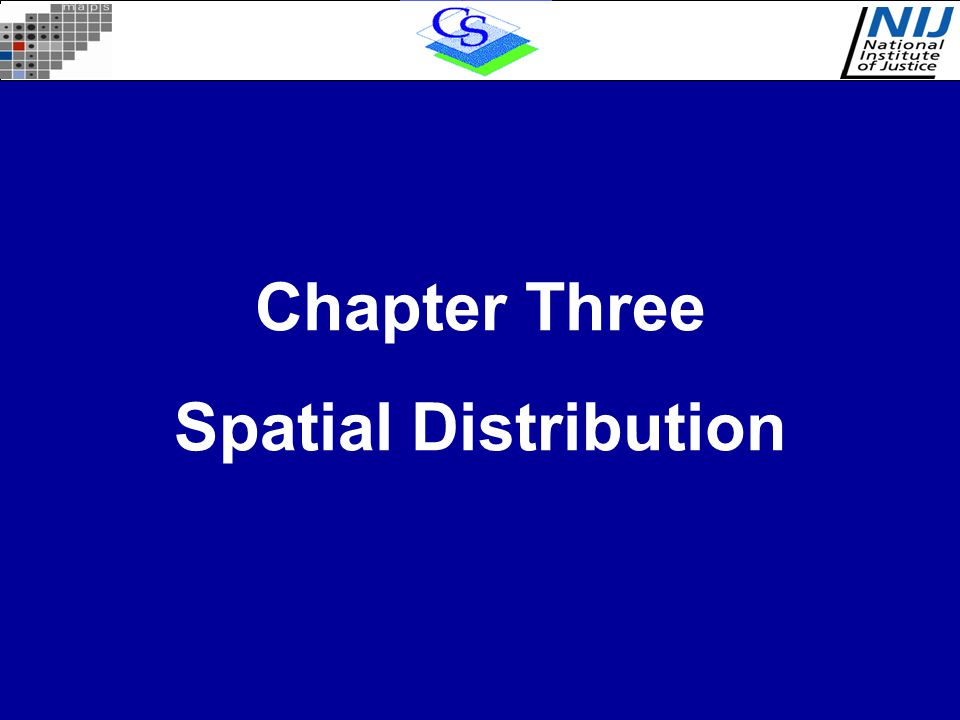 Chapter Three Spatial Distribution