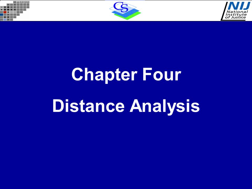 Chapter Four Distance Analysis