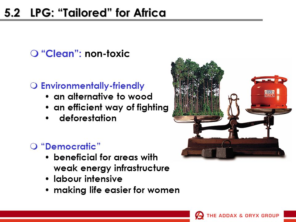 5.2 LPG: Tailored for Africa