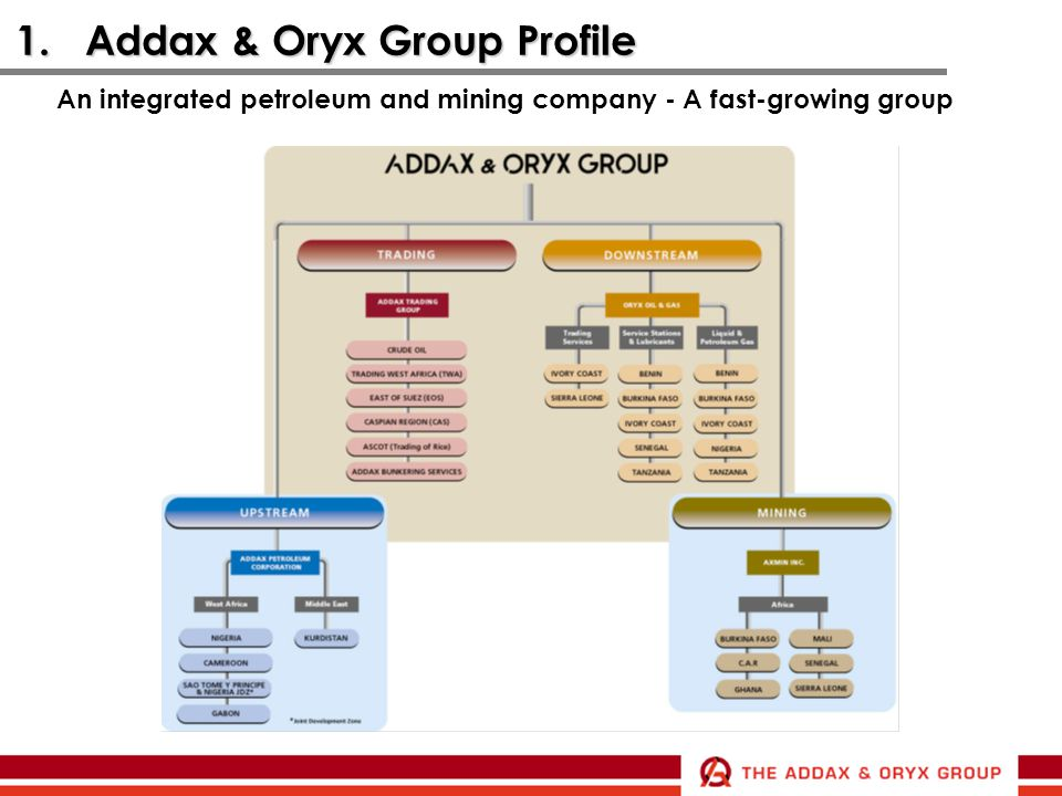 1. Addax & Oryx Group Profile