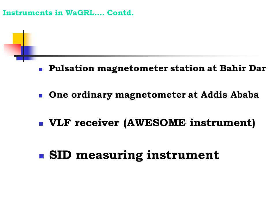 SID measuring instrument