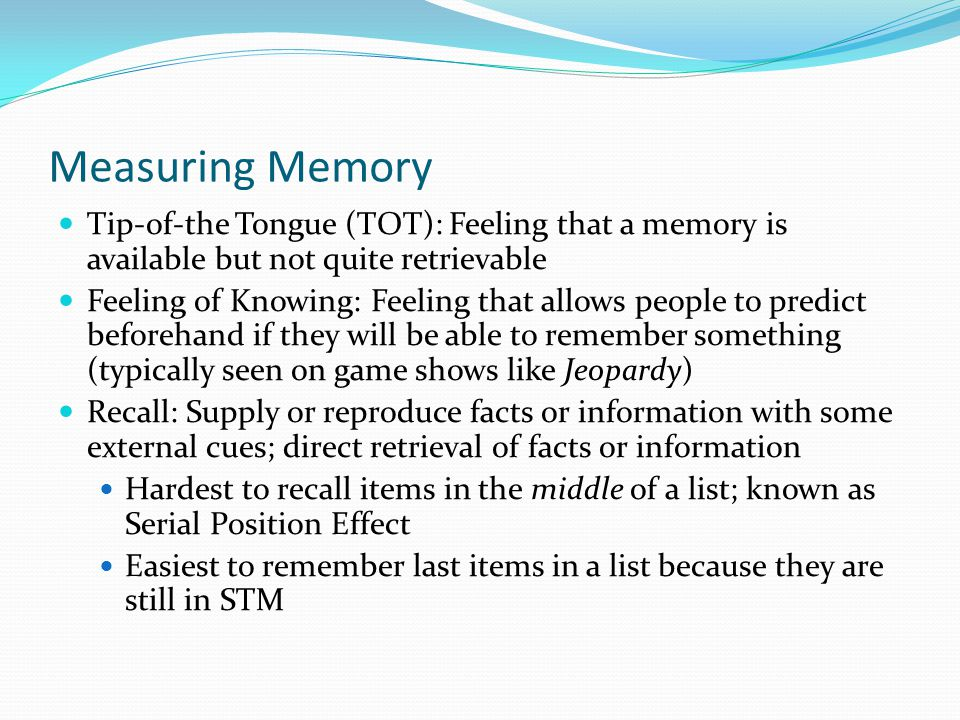 Chapter 6 Memory Dec 10th, ppt download