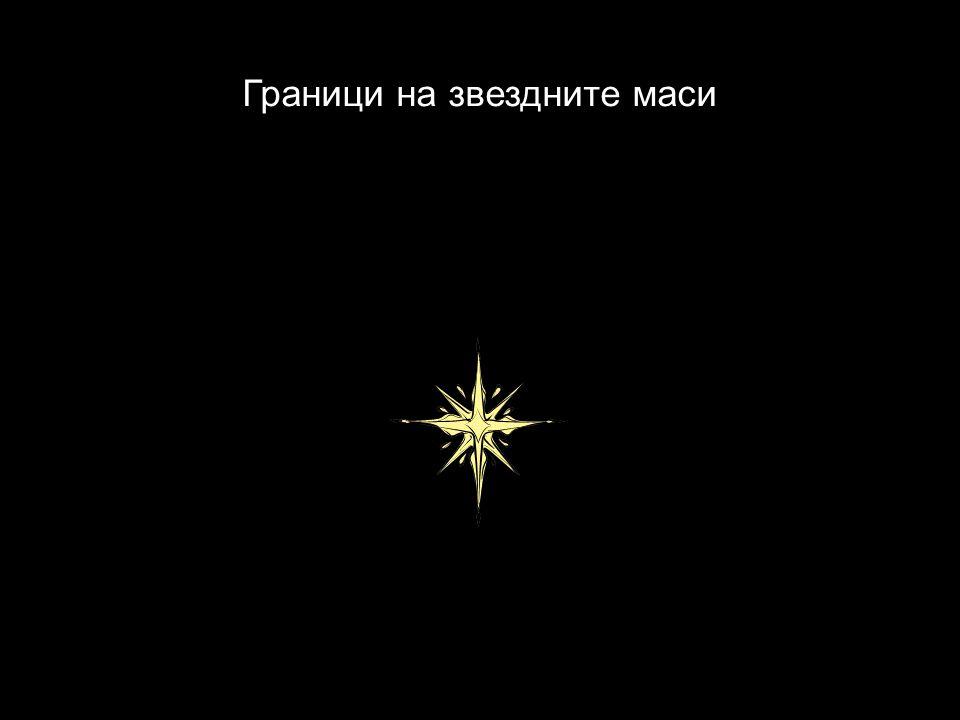 Граници на звездните маси
