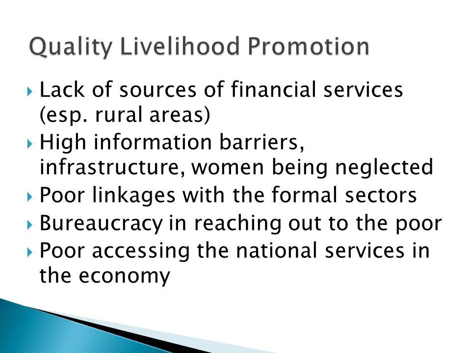 Quality Livelihood Promotion