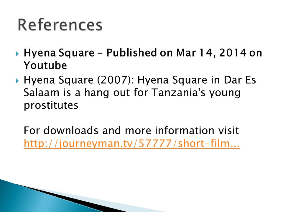 References Hyena Square - Published on Mar 14, 2014 on Youtube