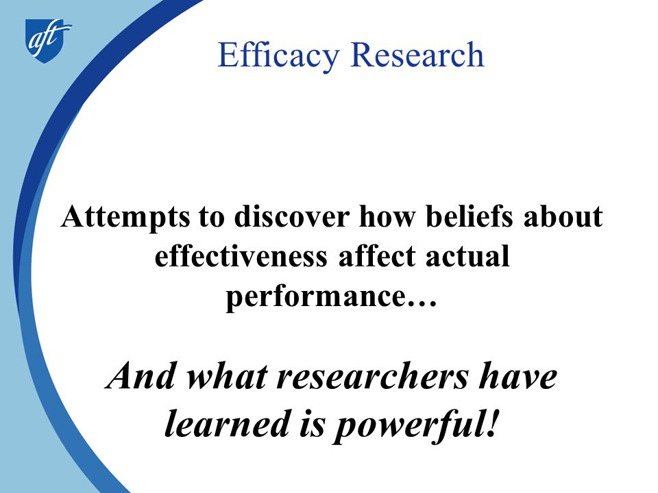 And what researchers have learned is powerful!