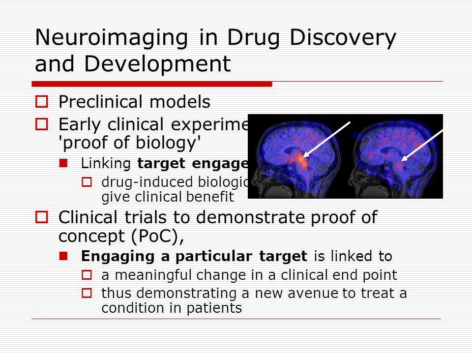 Neuroimaging in Drug Discovery and Development