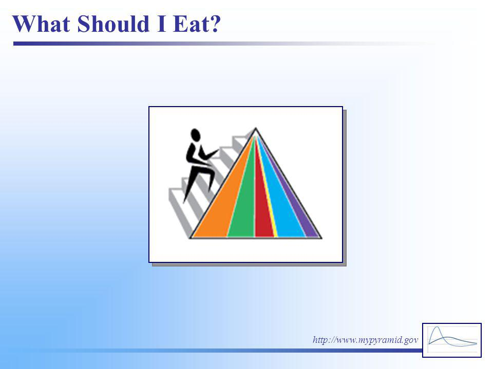 What Should I Eat http://www.mypyramid.gov