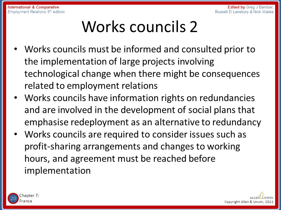 Works councils 2