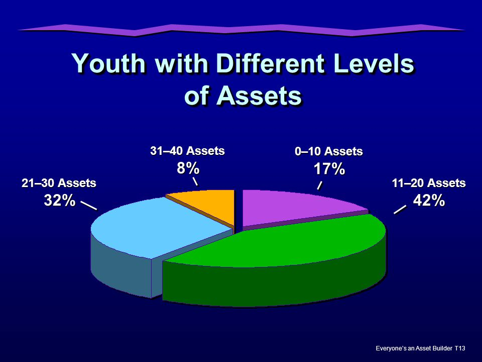 Youth with Different Levels of Assets