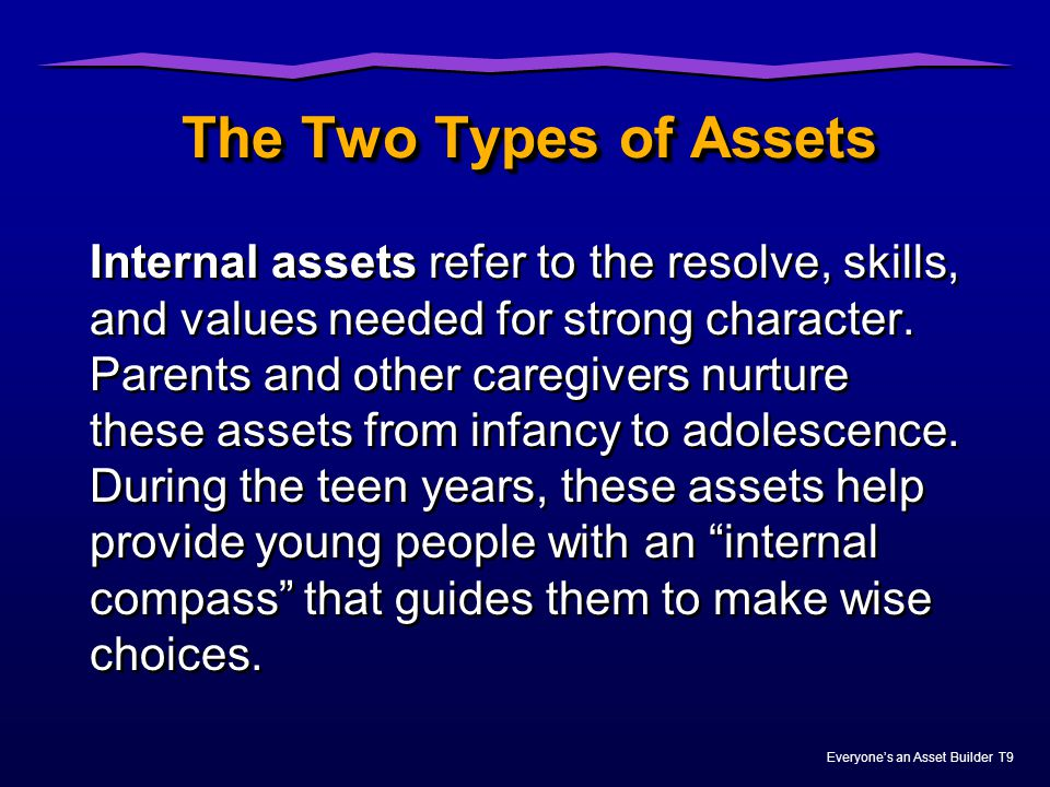 The Two Types of Assets
