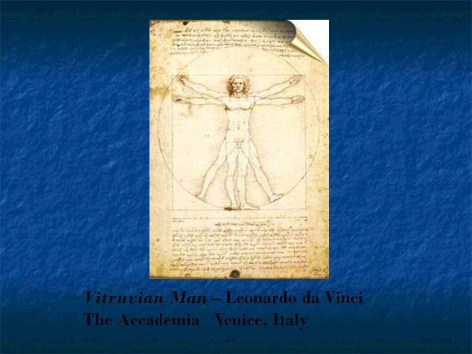 Vitruvian Man – Leonardo da Vinci