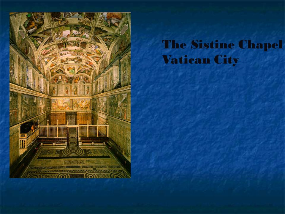 The Sistine Chapel Vatican City