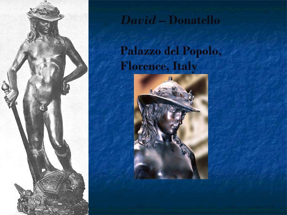 David – Donatello Palazzo del Popolo, Florence, Italy