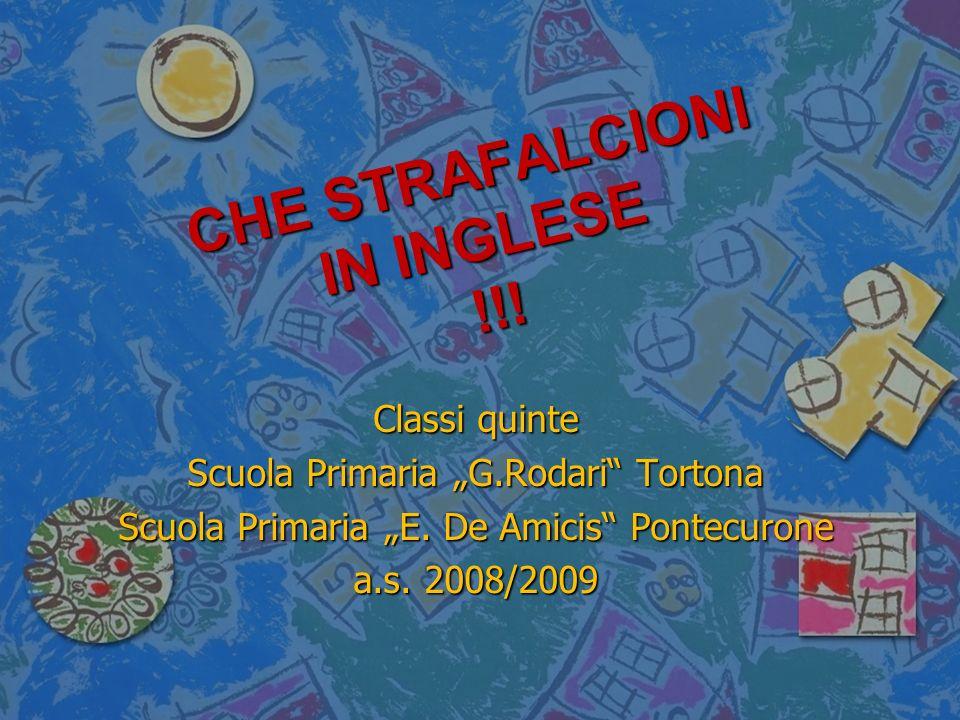 CHE STRAFALCIONI IN INGLESE !!!