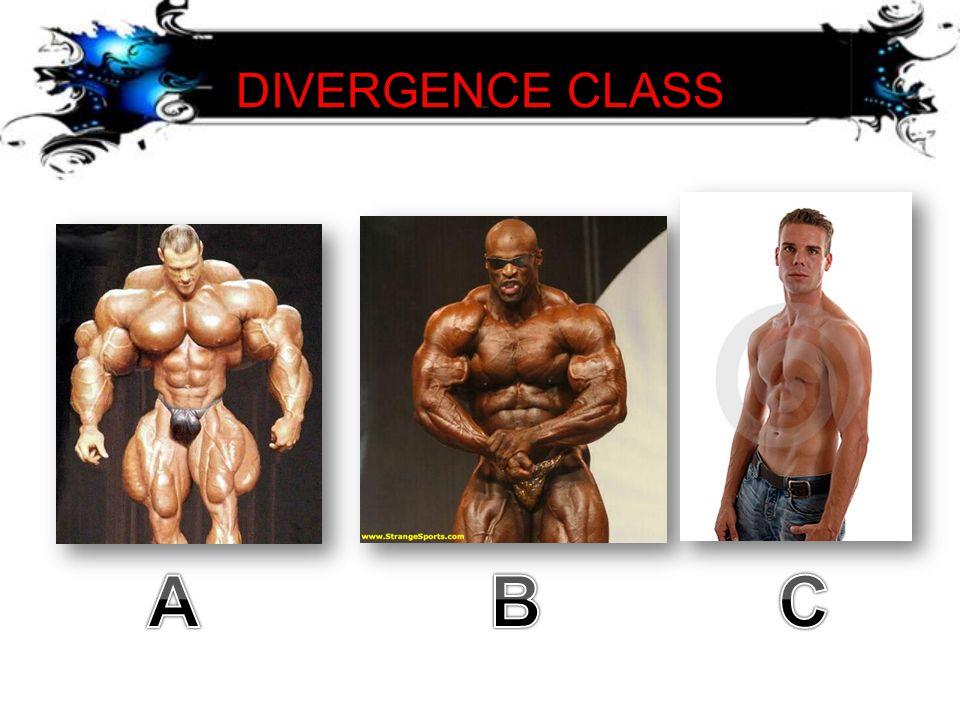 DIVERGENCE CLASS A B C