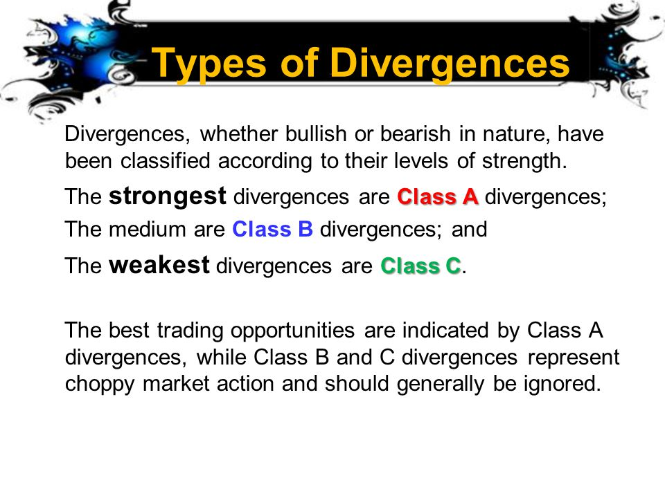 Types of Divergences