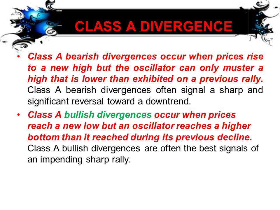 CLASS A DIVERGENCE