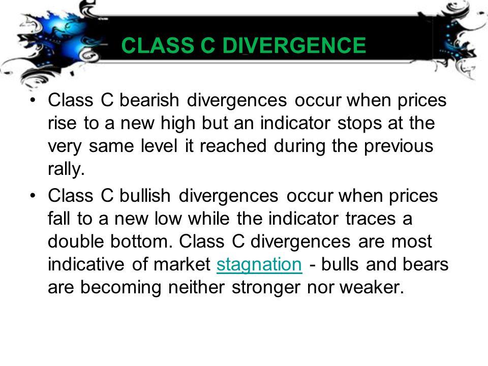 CLASS C DIVERGENCE