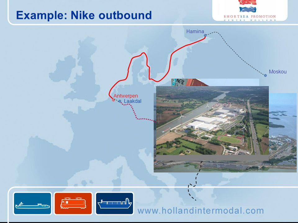 Example: Nike outbound