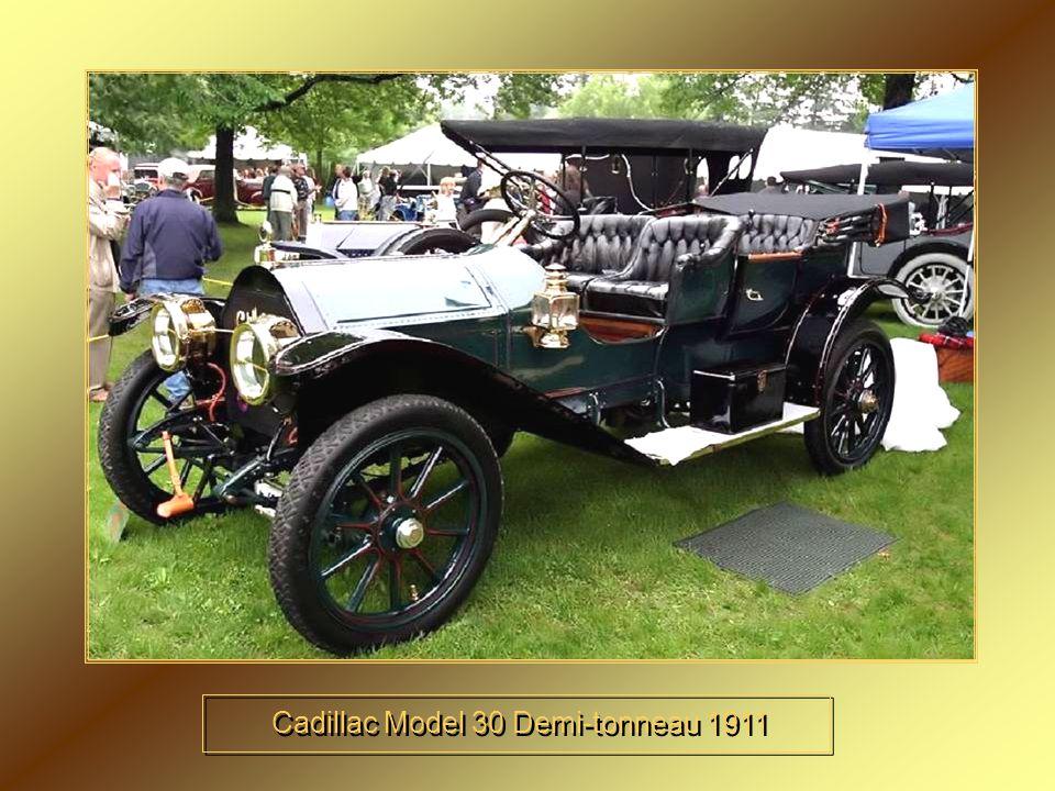 Cadillac Model 30 Demi-tonneau 1911
