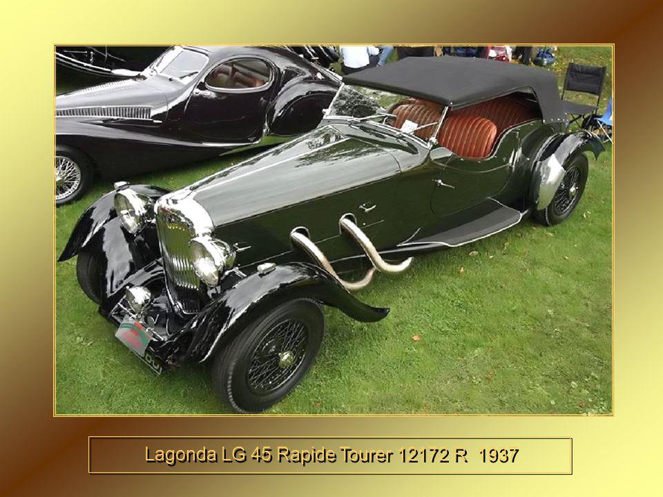 Lagonda LG 45 Rapide Tourer 12172 R 1937