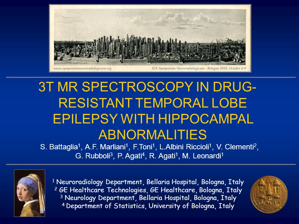 3T MR SPECTROSCOPY IN DRUG-RESISTANT TEMPORAL LOBE EPILEPSY WITH HIPPOCAMPAL ABNORMALITIES