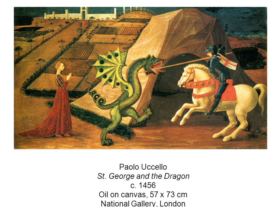 Paolo Uccello St. George and the Dragon c