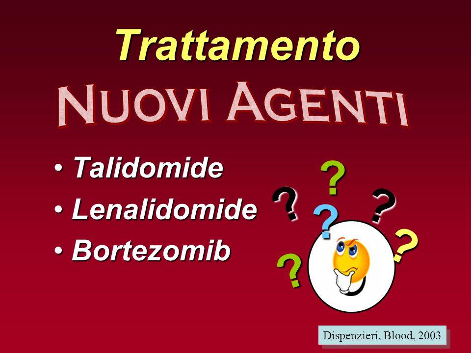 Trattamento Talidomide Lenalidomide Bortezomib