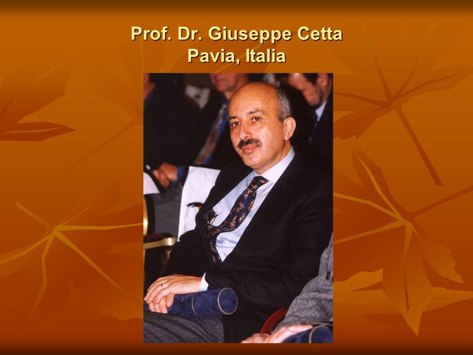 Prof. Dr. Giuseppe Cetta Pavia, Italia