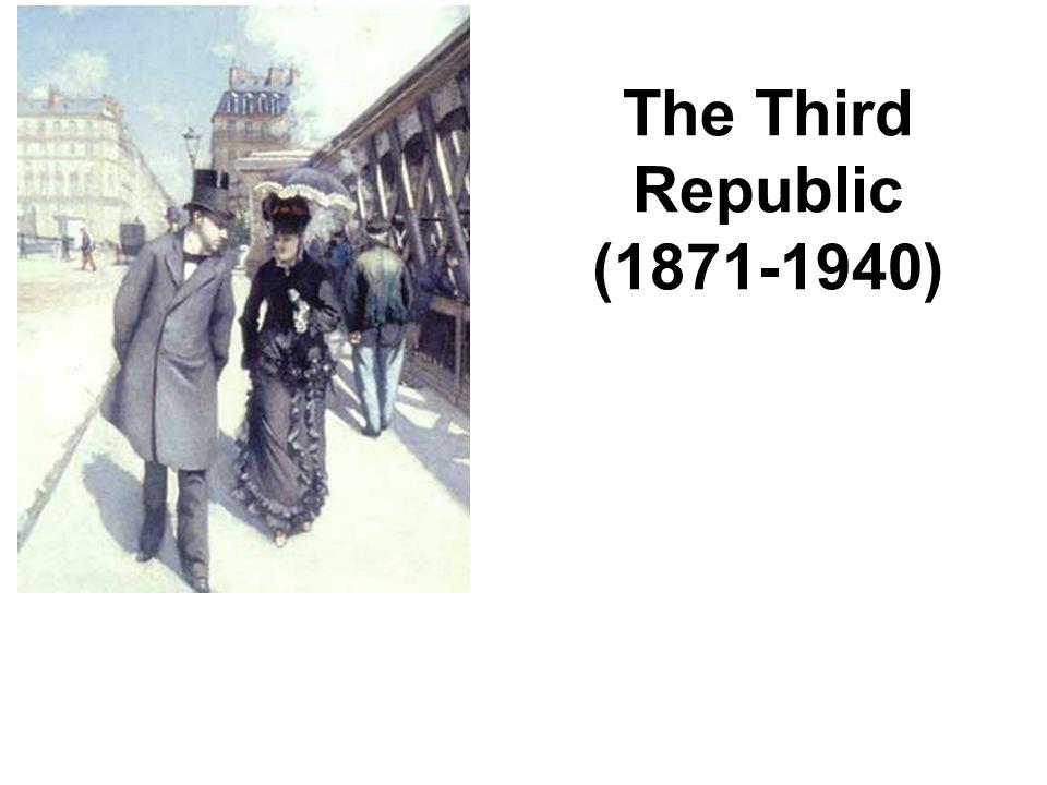 The Third Republic (1871-1940)