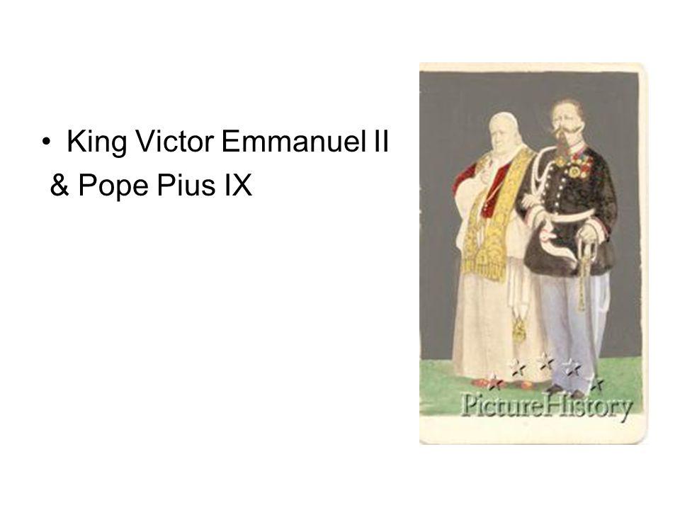 King Victor Emmanuel II