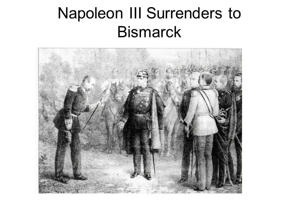 Napoleon III Surrenders to Bismarck