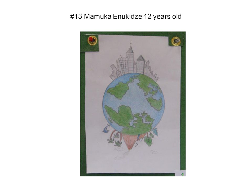 #13 Mamuka Enukidze 12 years old