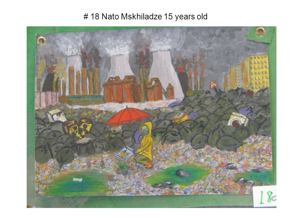 # 18 Nato Mskhiladze 15 years old