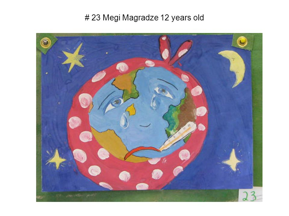 # 23 Megi Magradze 12 years old