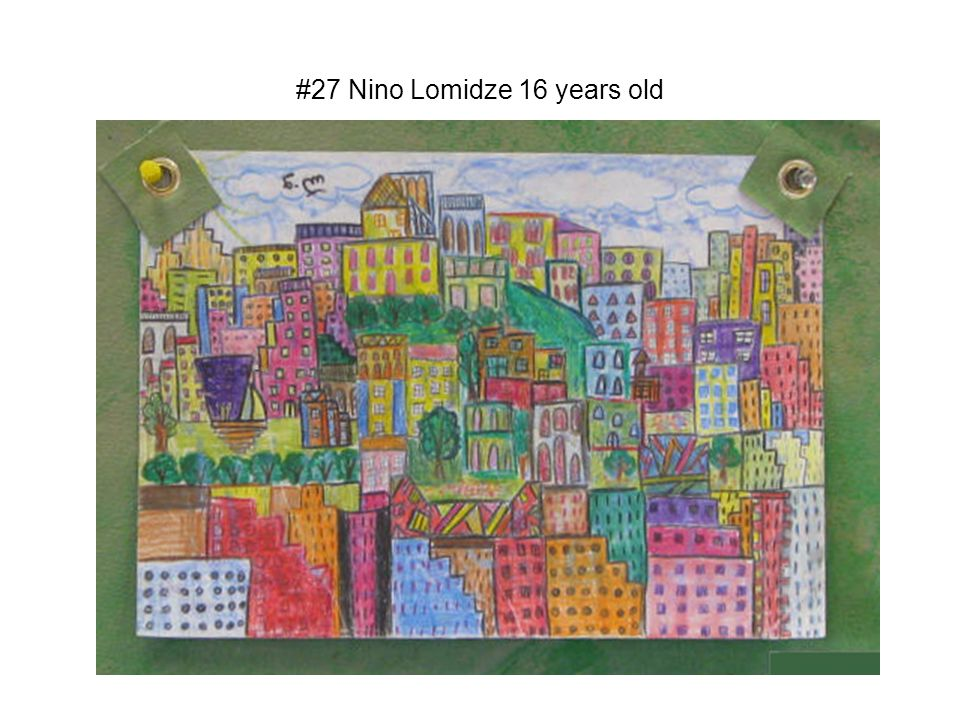 #27 Nino Lomidze 16 years old