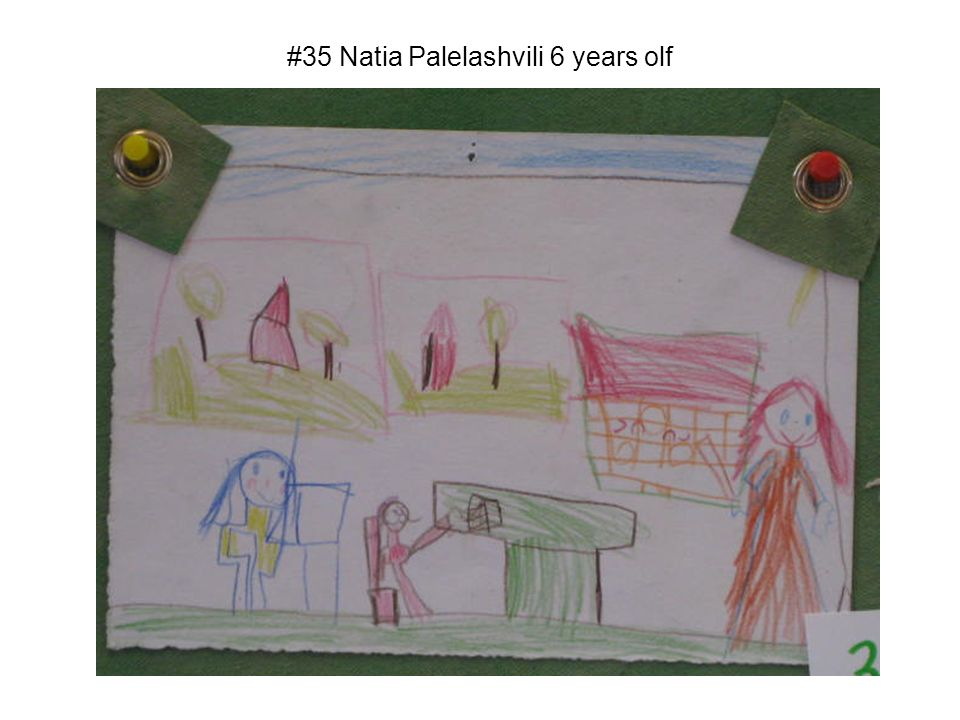 #35 Natia Palelashvili 6 years olf
