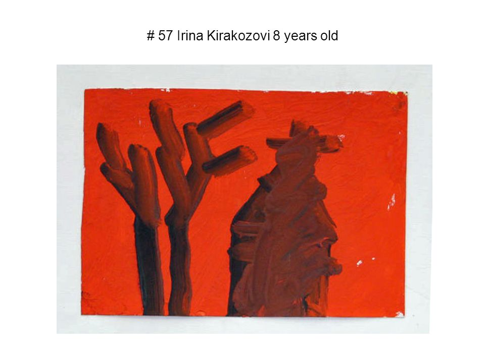 # 57 Irina Kirakozovi 8 years old