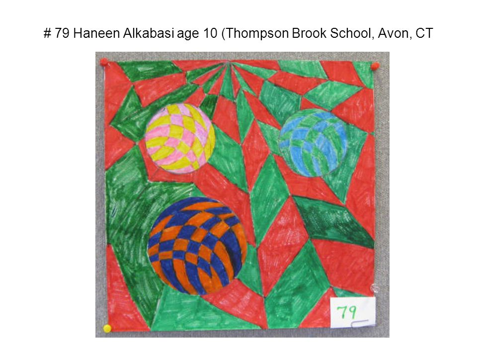 # 79 Haneen Alkabasi age 10 (Thompson Brook School, Avon, CT