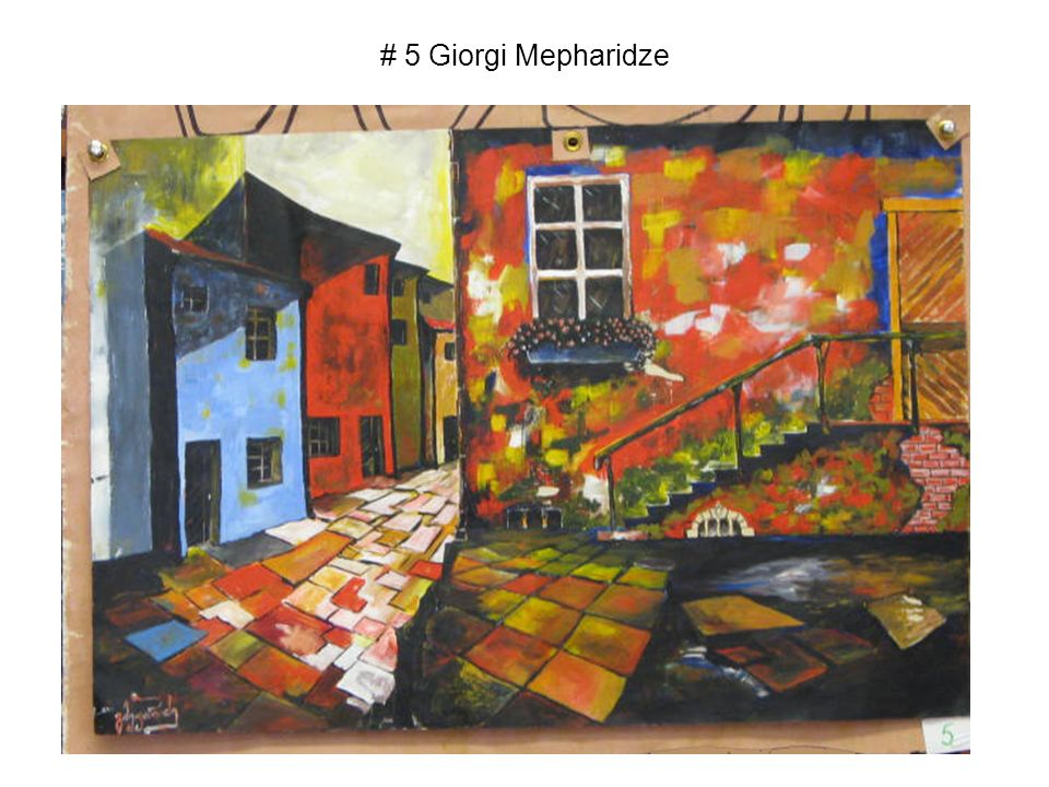 # 5 Giorgi Mepharidze
